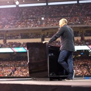 Greg Laurie preaching Harvest America Angel Stadium 2012