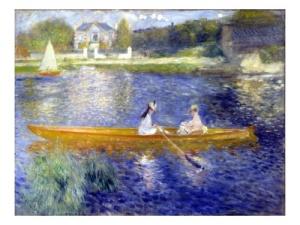 Painting Renoir Skiff