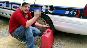 siphoning gas